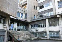 L'ingresso ai reparti dell'ospedale di Tropea
