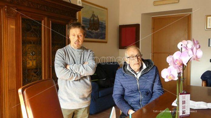 Antonio Vitetta con il figlio Massimo