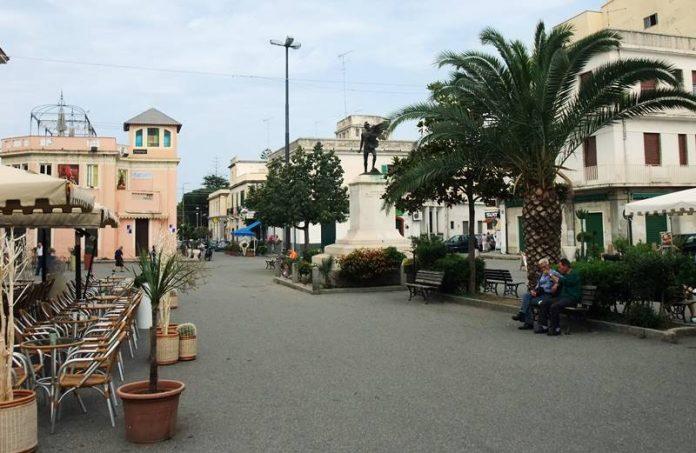 Piazza Vittorio Veneto a Tropea