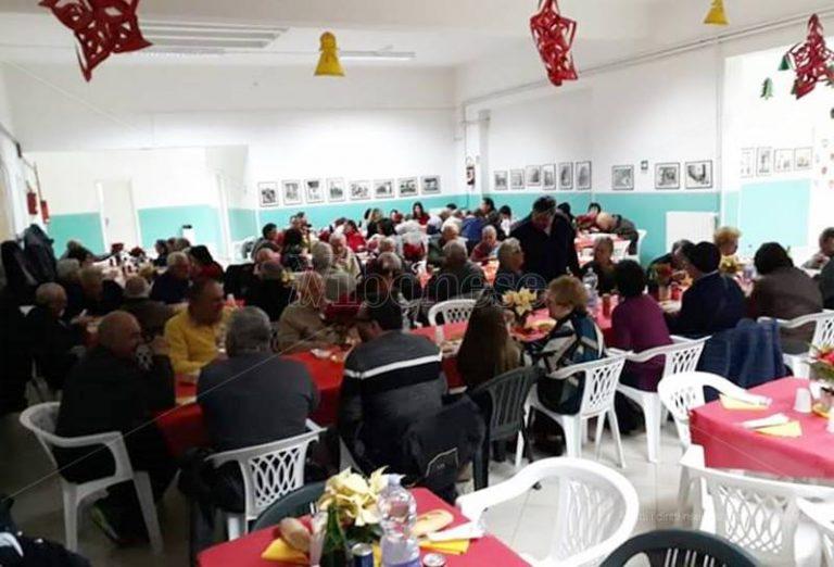 Paravati, oltre cento ospiti al Pranzo di Natale per gli anziani