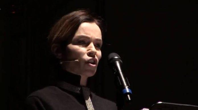 Stefania Rocca sul palco dell'Auditorium