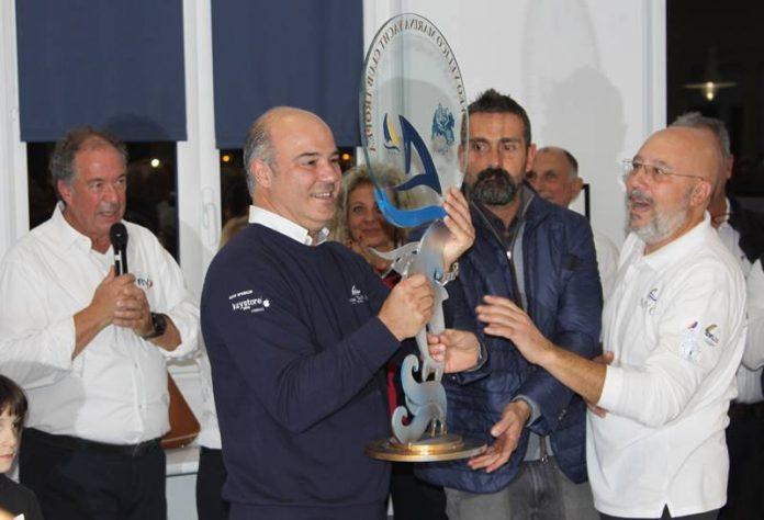 La consegna del Trofeo Marina Yacht Club