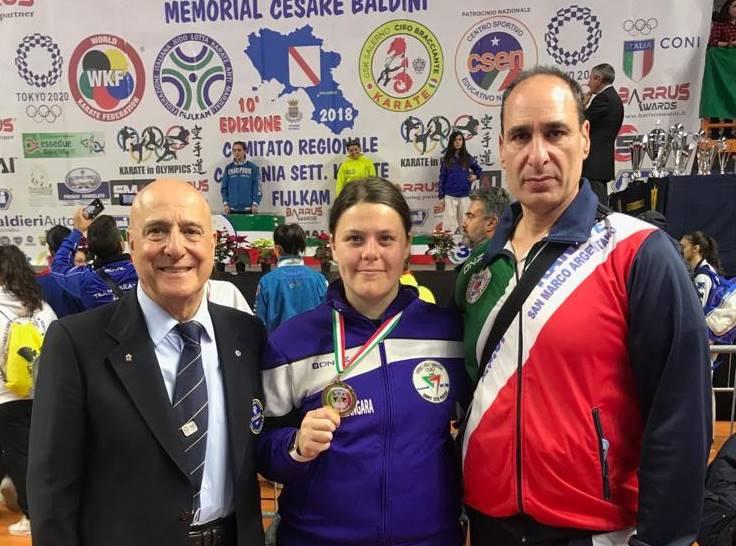 Karate, nuovo successo per la vibonese Viola Zangara in Campania