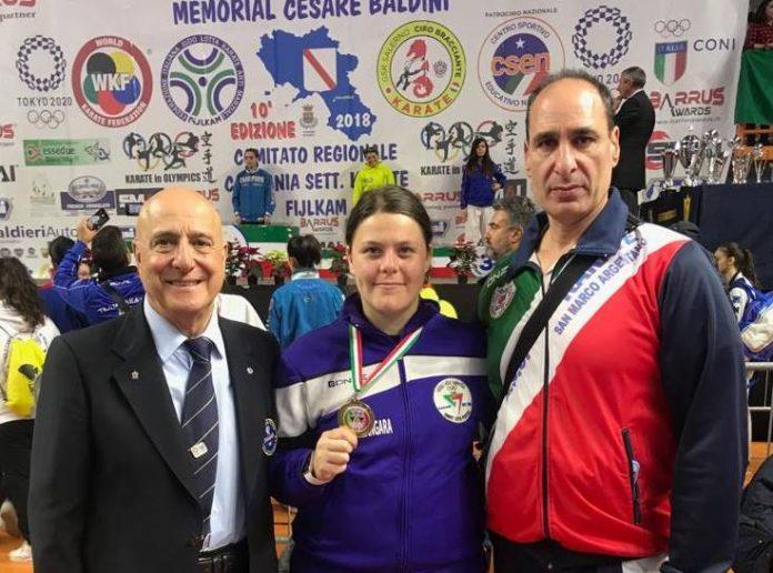 Viola Zangara premiata in Campania
