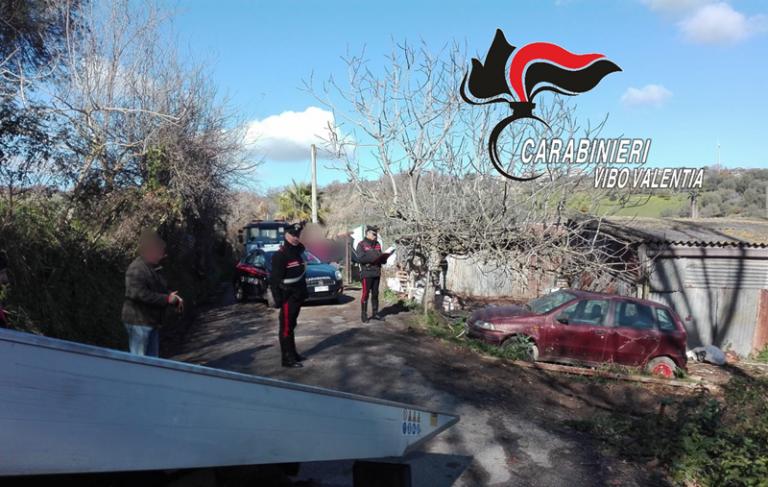 Controlli a tappeto e sanzioni dei carabinieri a San Gregorio d'Ippona