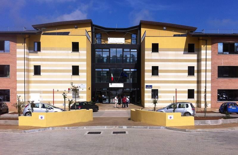 La sede dell'Alberghiero a Vibo
