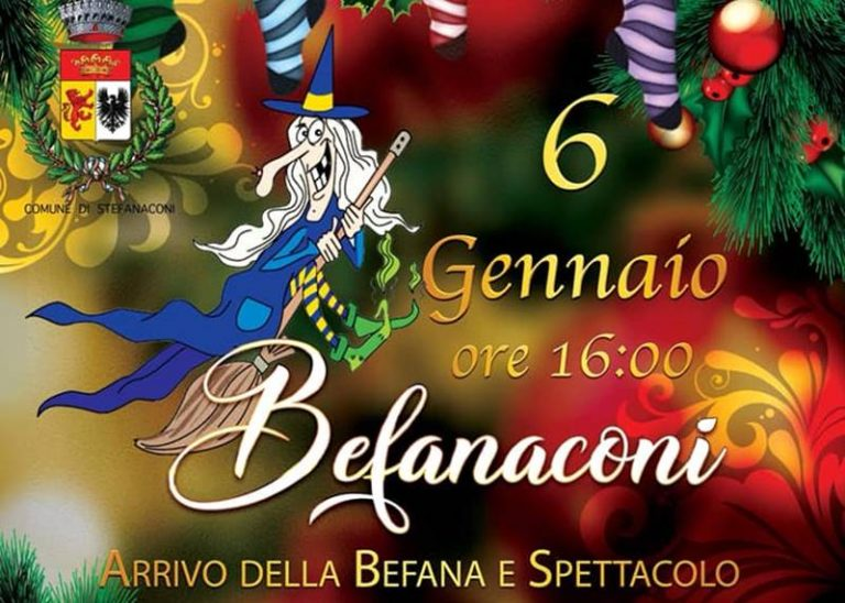 "La Befana sbarca a Stefanaconi, in arrivo ""Befanaconi"""