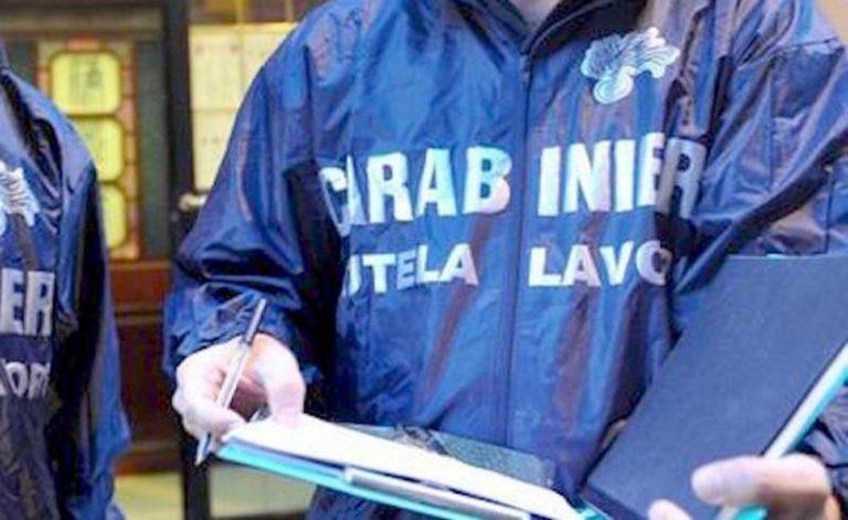 Irregolarità nei cantieri, sanzioni per due ditte impegnate a Pizzo