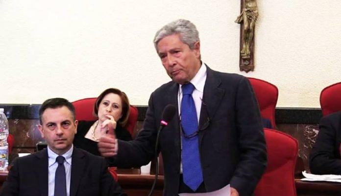 Il sindaco Costa con il suo vice Bellantoni