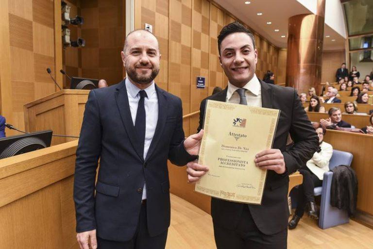Filadelfia, giovane laureato in Economia premiato alla Camera dei deputati
