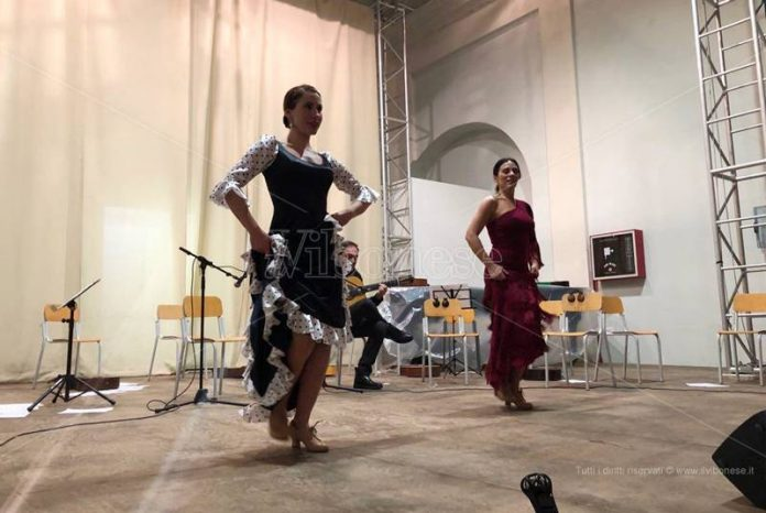 L'esibizione di flamenco