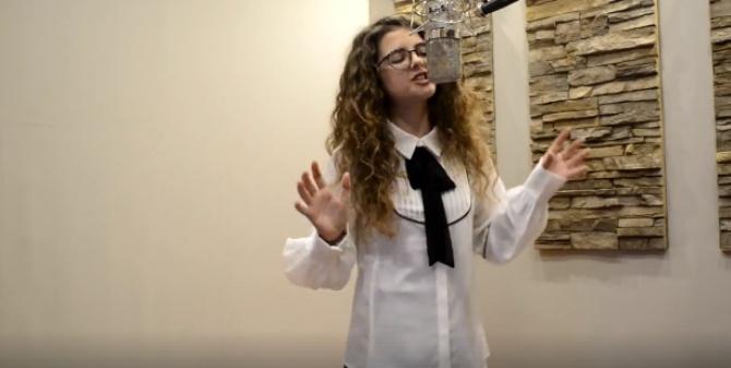 Giovanna, giovane cantante calabrese a Sanremo Young