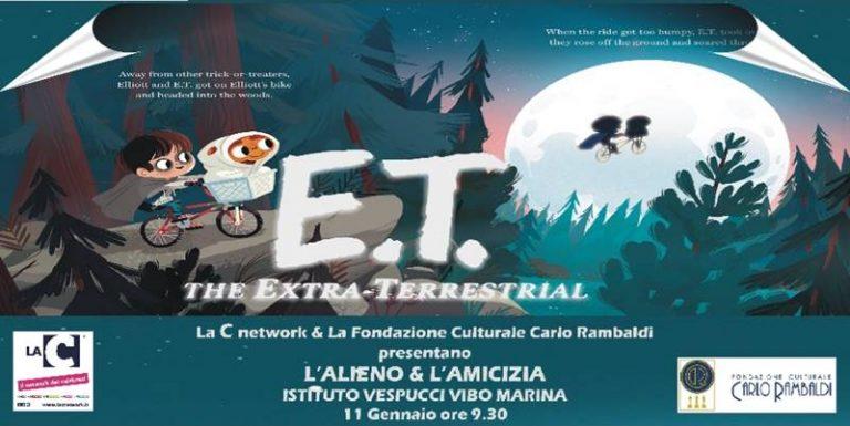"""""""L'alieno e l'amicizia"""", al Vespucci di Vibo Marina l'evento dedicato ad ET – Video"""