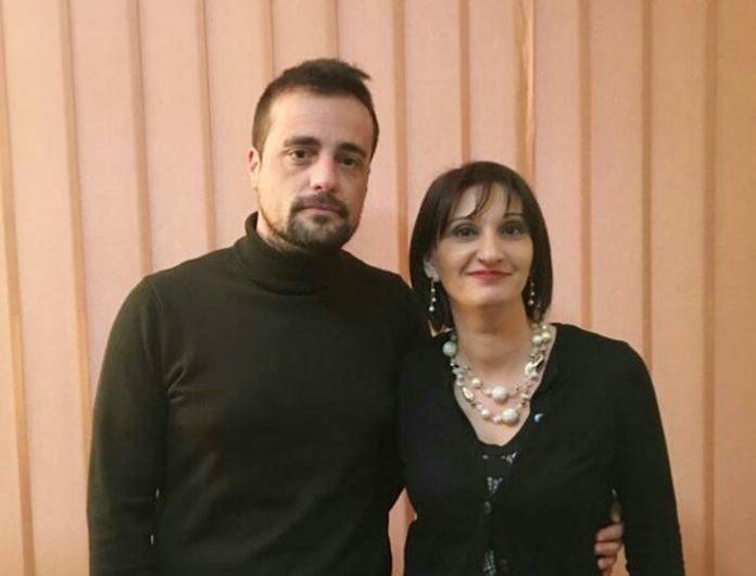 Antonio Lopreiato con Maria Luana Ferraro