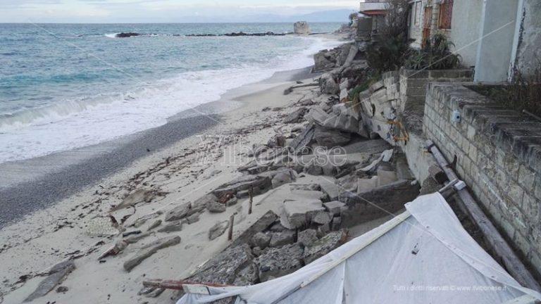 Tropea e quel lungomare ancora ferito a due anni dalle mareggiate