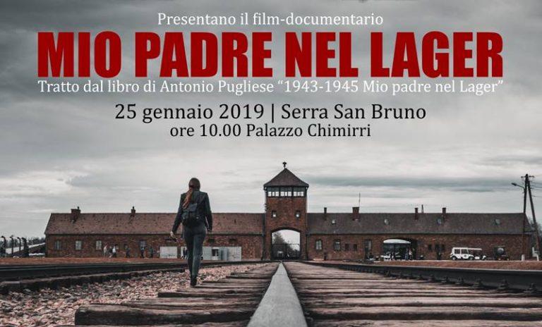 """Giornata della memoria, a Serra San Bruno la proiezione del film """"Mio padre nel lager"""""""