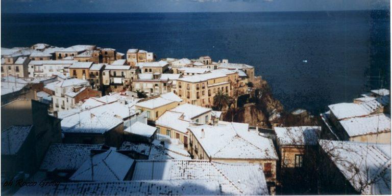 Pizzo, vent'anni fa una nevicata da sogno che resta nella memoria