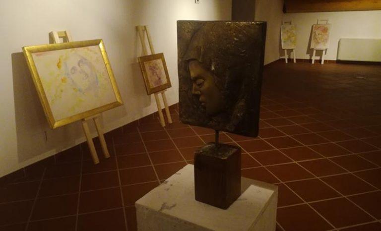 Successo a Mileto per la mostra pittorica del maestro Pino Schiti
