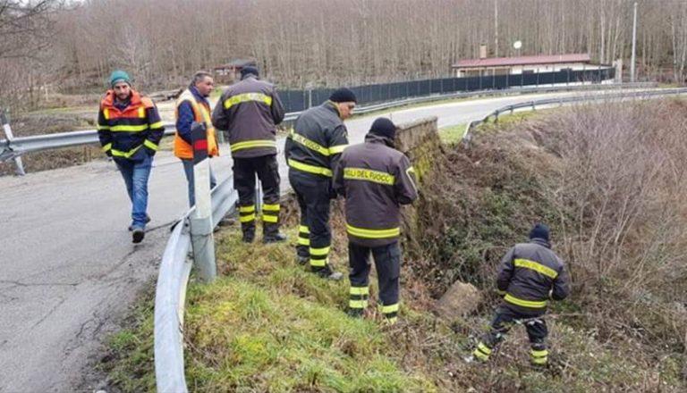 Chiusa la provinciale fra Mongiana e Fabrizia a causa di un crollo