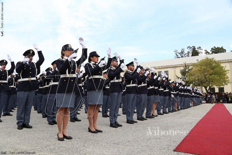 Scuola di Polizia di Vibo, giurano gli allievi del 202esimo corso