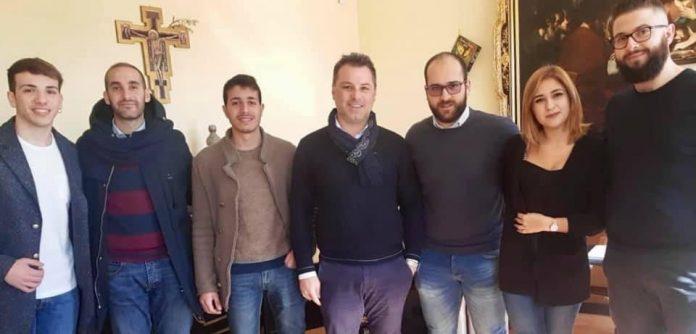I componenti dell'associazione con Solano