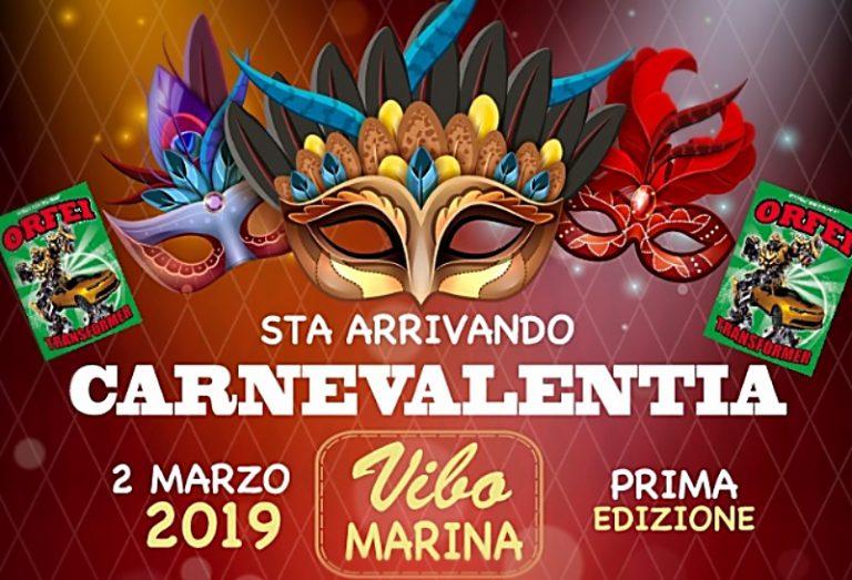 Maschere e coriandoli anche a Vibo Marina, tutto pronto per il Carnevalentia