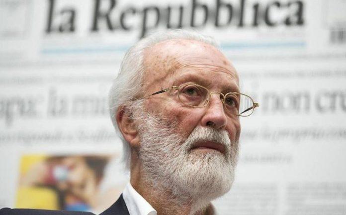 Il fondatore di Repubblica Eugenio Scalfari