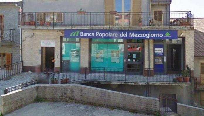 La sede della Bper a Fabrizia