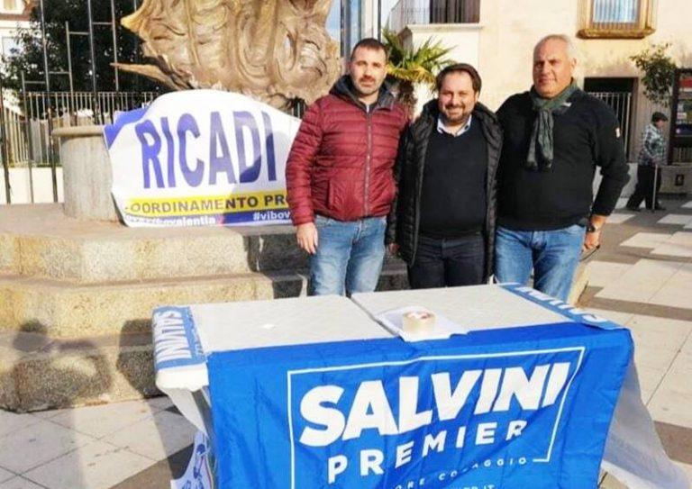 Lega vibonese in piazza per Salvini, «Raccolte 900 firme»