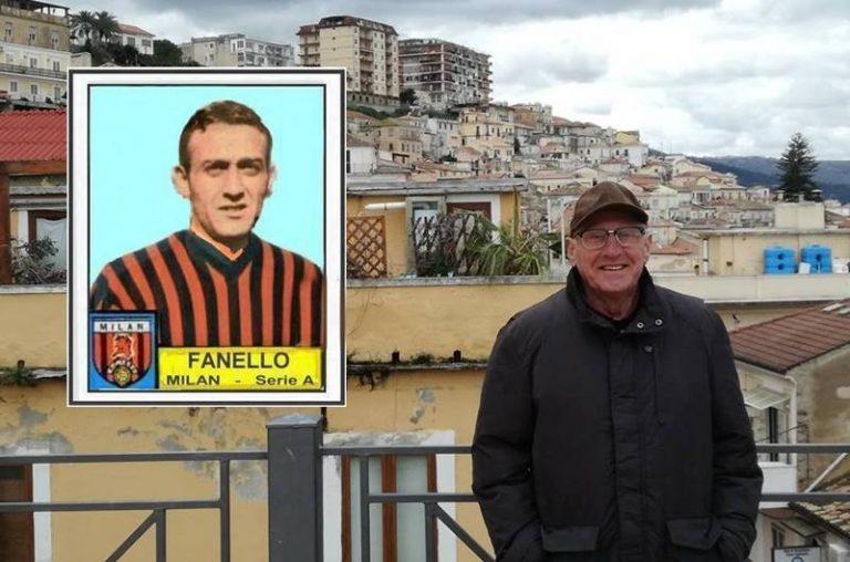 Fu bomber del Milan negli anni '60, Gianni Fanello ritorna nella sua Pizzo