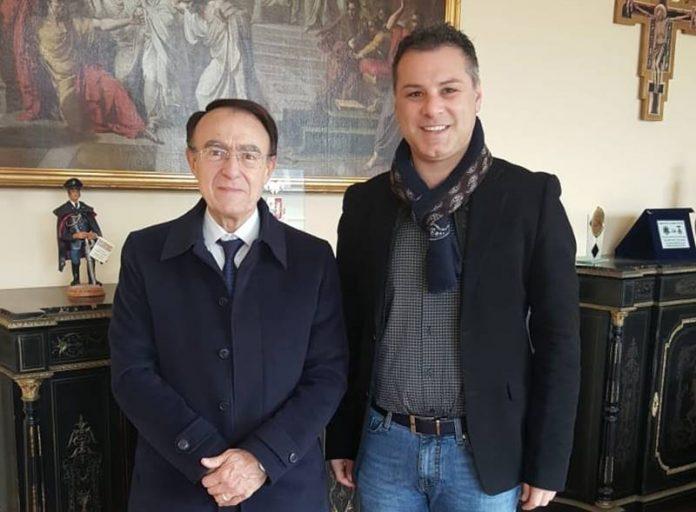 Il commissario Guetta e il presidente Solano