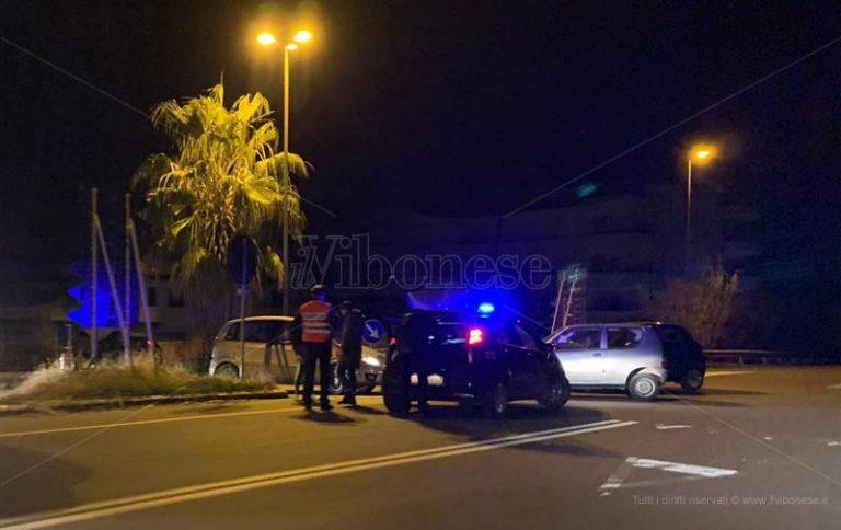 Incidente stradale nei pressi della stazione di Vibo-Pizzo, tre auto coinvolte