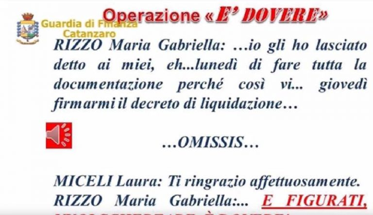 Corruzione di dirigente regionale, avviso di conclusione indagini per imprenditrice vibonese