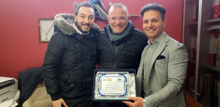 Dalla Pro loco di Vibo il Premio coraggio all'imprenditore Maurizio Mazzotta