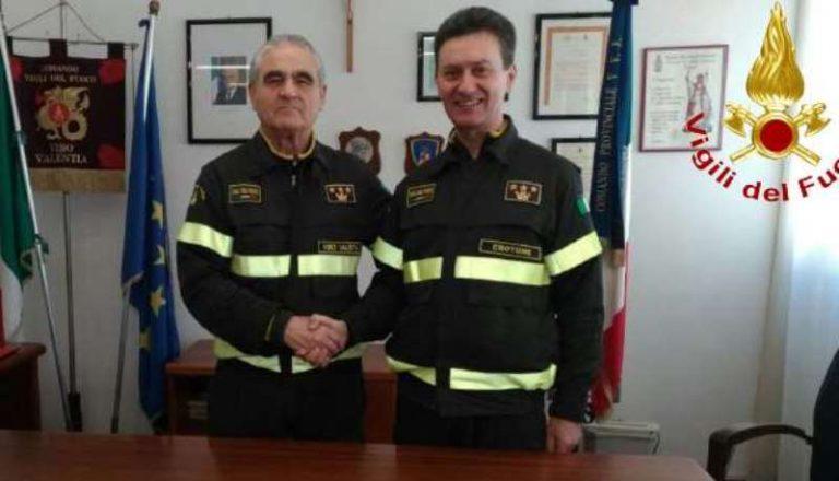 Vigili del fuoco di Vibo, il comando passa momentaneamente a Casella