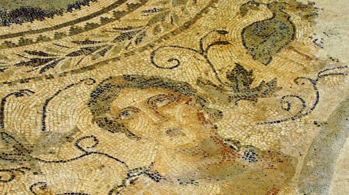 Il mosaico romano di Sant'Aloe
