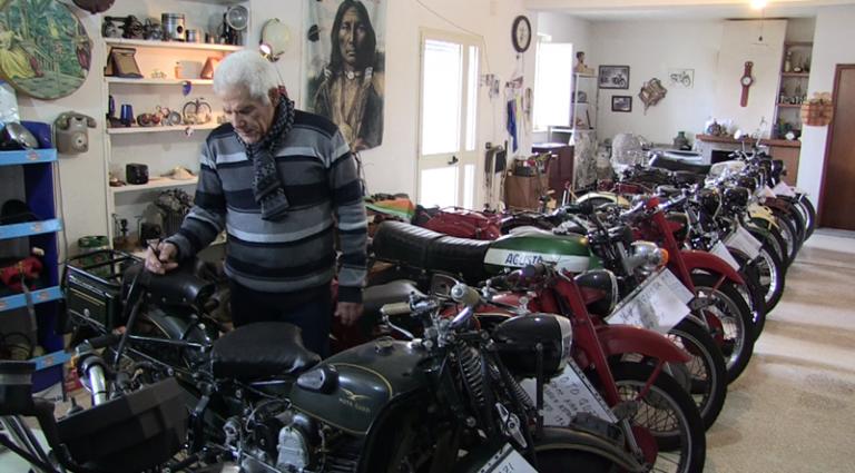 """A Vibo le moto """"made in Calabria"""" che hanno fatto la storia d'Italia – Video"""