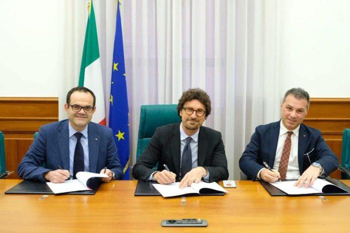 Roberto Musmanno, Danilo Toninelli e Salvatore Solano