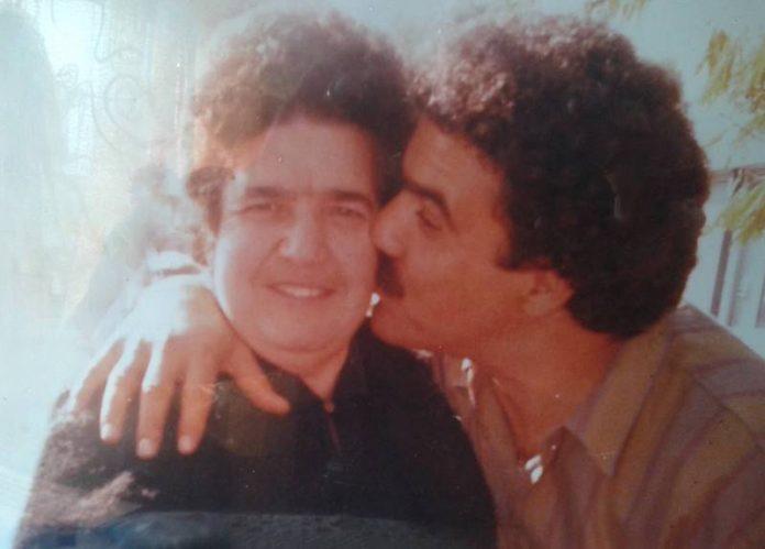 Natuzza con il figlio Antonio Nicolace
