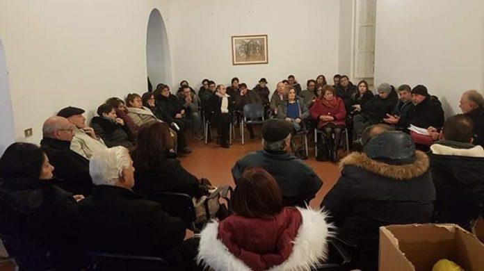 Un momento dell'assemblea del Cantiere civico