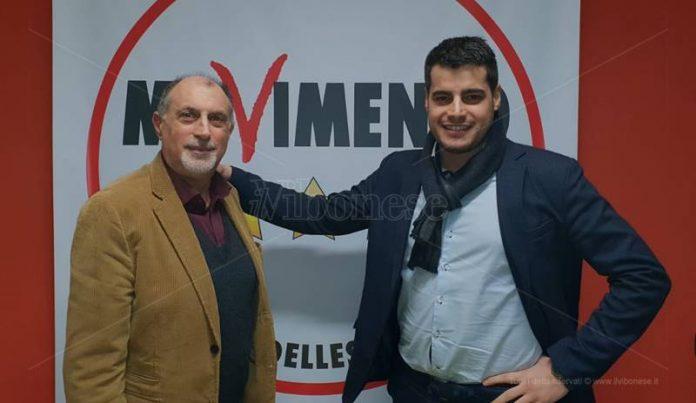 Domenico Santoro con il deputato Riccardo Tucci