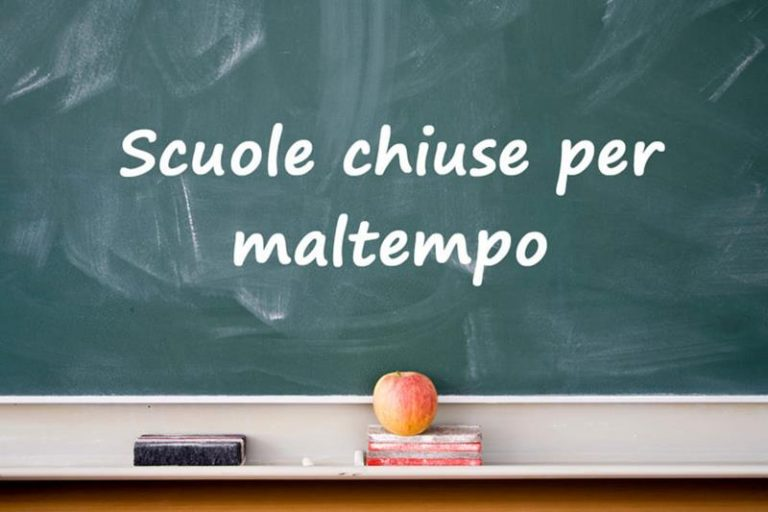 Allerta meteo: scuole chiuse in dieci centri del Vibonese