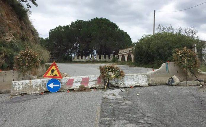La Strada del Mare chiusa a Coccorino