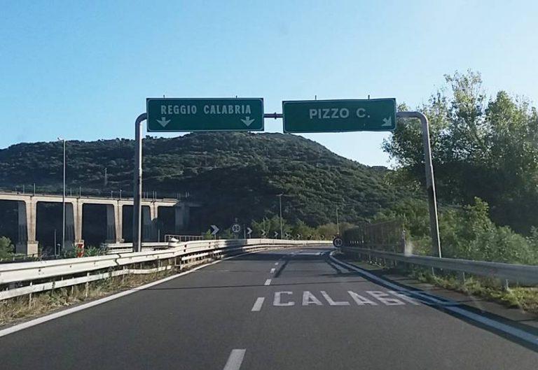 Lavori di ammodernamento dell'A2 fra Pizzo e S. Onofrio-Vibo