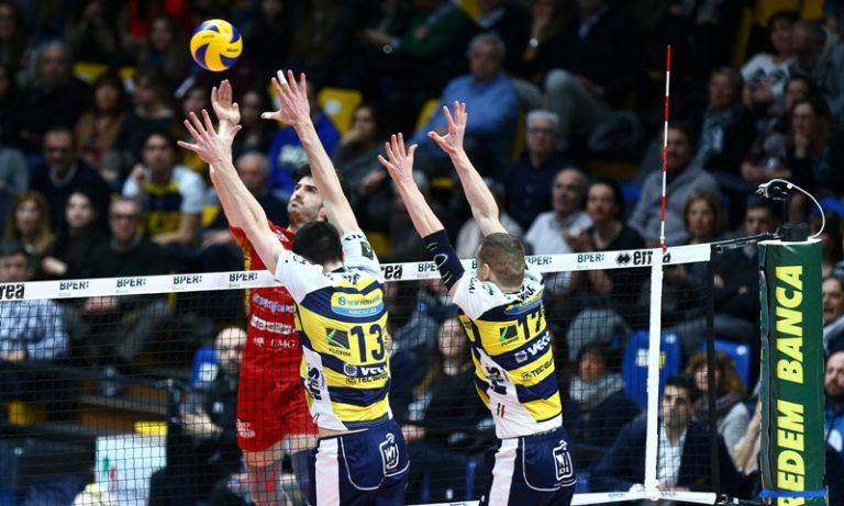 Volley, Tonno Callipo sconfitta a Modena ma con onore