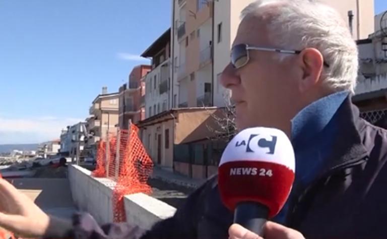 """Vibo Marina, i lavori al """"Pennello"""" e i timori dei cittadini – Video"""