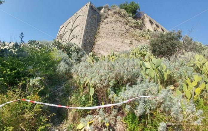 Il luogo in cui è stato ritrovato il cadavere