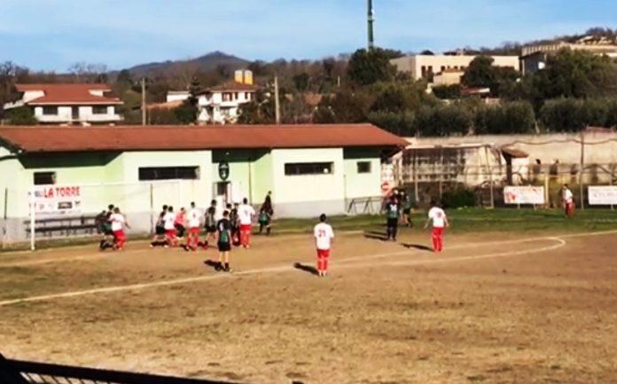L'azione del gol del Filandari