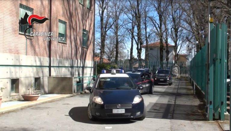 Carabinieri, raffica di controlli nelle Serre: scatta anche una denuncia