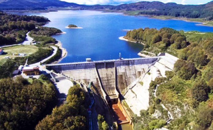 La diga dell'Alaco